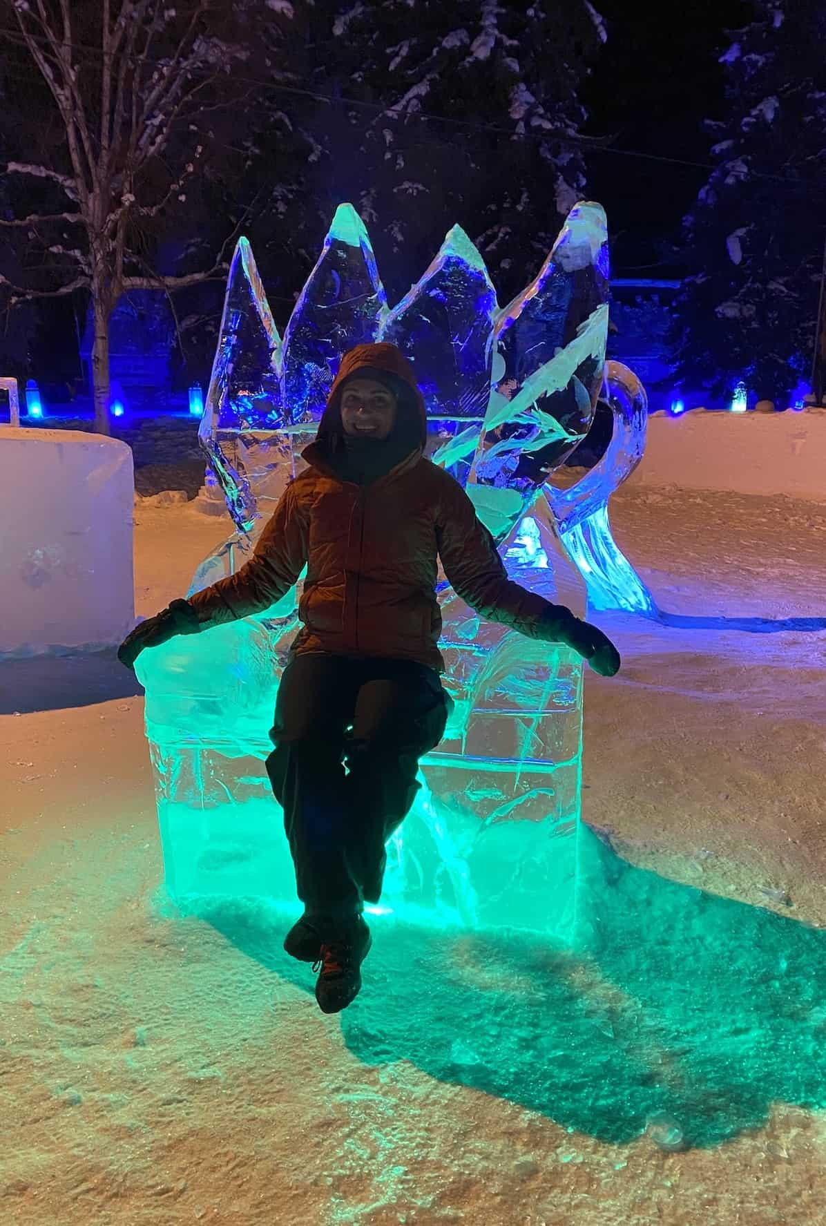 Fairbanks - World Ice Art Championships