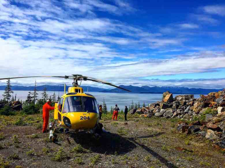 Icy Strait Point Excursions - Helicopter - Matthew Reece for USFS
