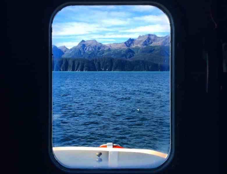 Alaska in Autumn - Cruise Window