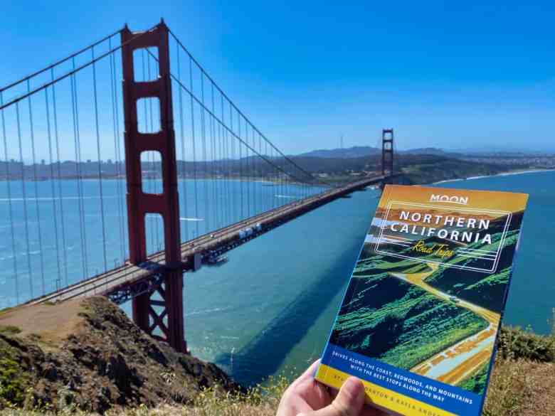 San Francisco Road Trips - Moon Travel Guide and the Golden Gate Bridge