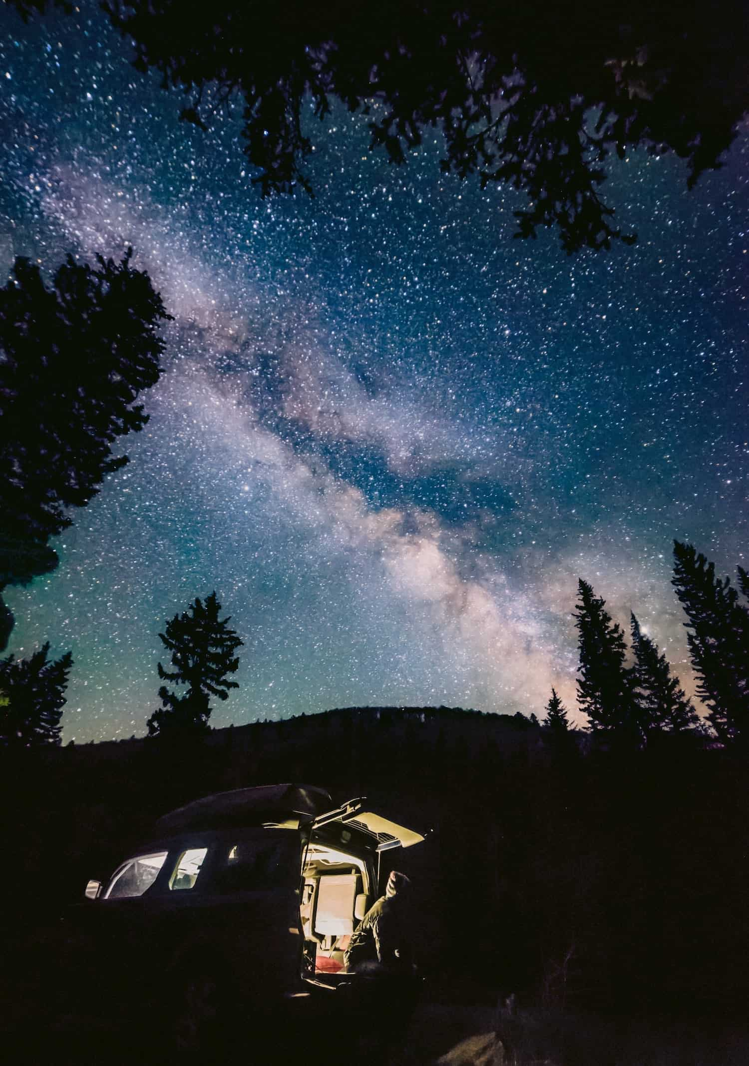 Pack for Car Camping - Under the Milky Way