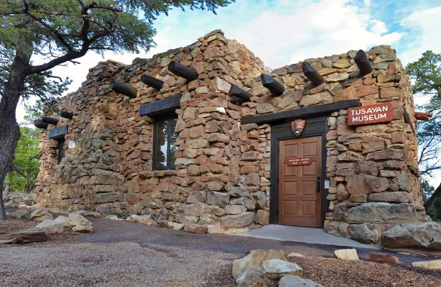 Half-Day at Grand Canyon - Tuyasan Museum - NPS Photo by Michael Quinn