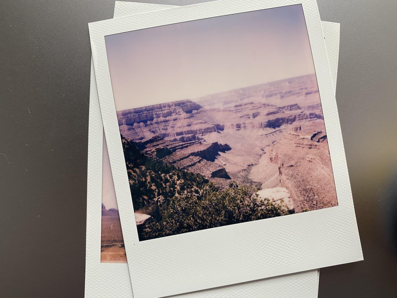 Polaroid Now: Grand Canyon