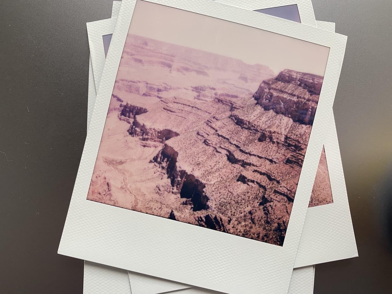 Polaroid Now Review: Grand Canyon