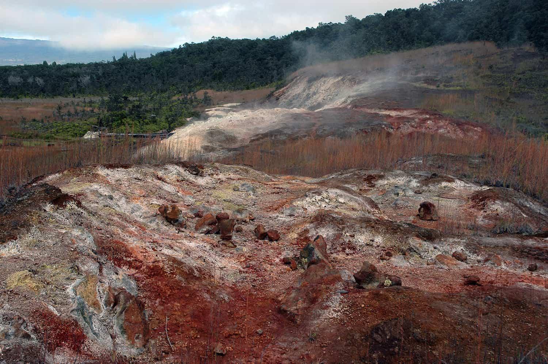 Hawaii Volcanoes - Sulphur Banks - Semiconductor Films via Flickr