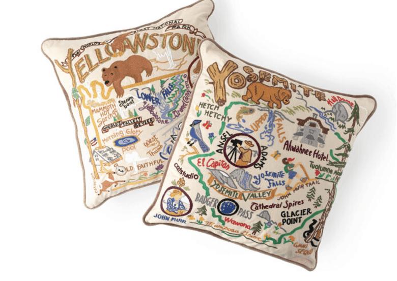 National Park Gifts - Pillows