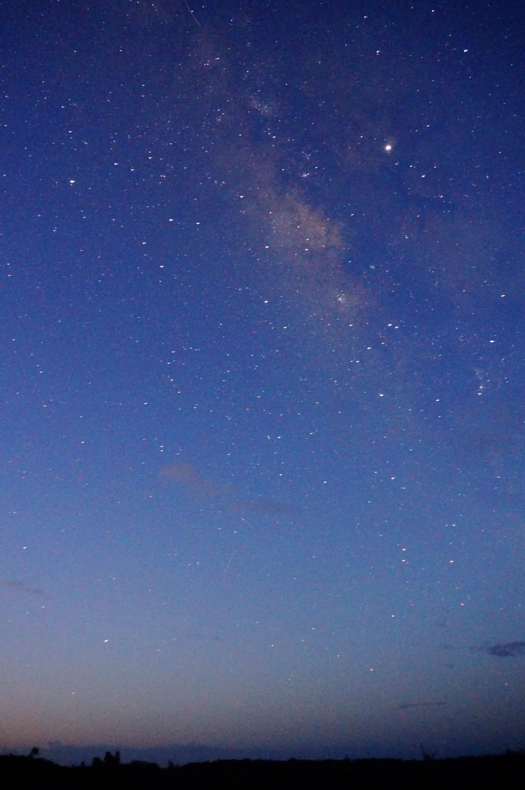 Stargazing in Hawaii - Milky Way