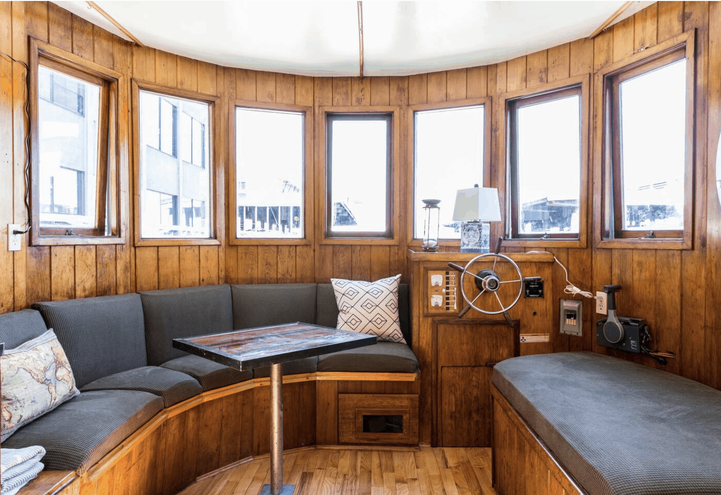 Seattle Houseboats Adorable Pied-à-terre