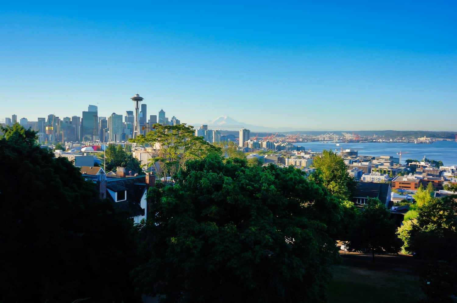 Pacific Coast Highway - Seattle - View from Kerry Park