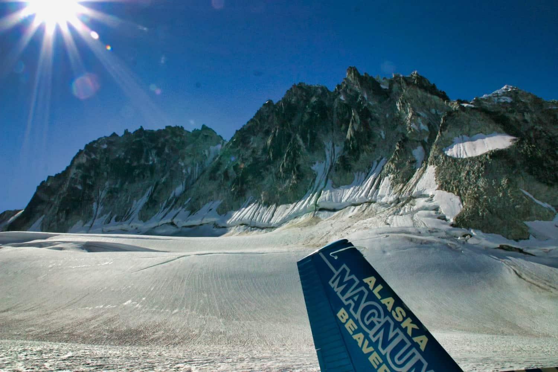 Alaska - Fly Denali Glacier Landing