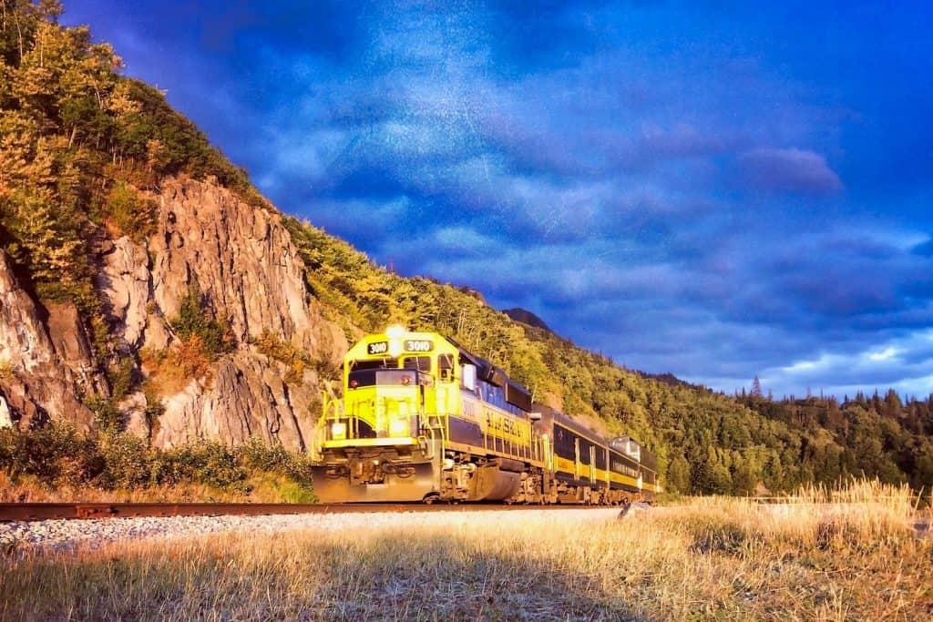 Alaska - Railroad Engine