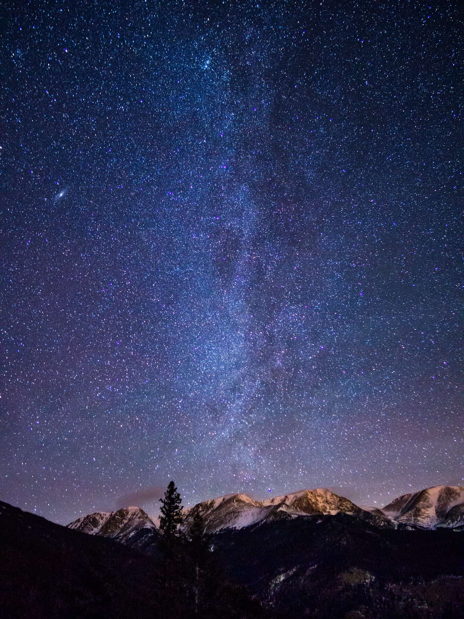 Colorado National Parks - Rocky Mountain NP Stargazing