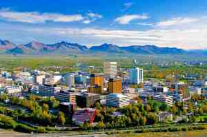 Anchorage Facts Hero - Anchorage Skyline - Frank Flavin