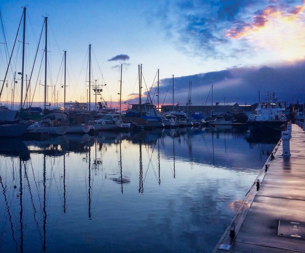 Olympic Peninsula Road Trip - Port Angeles Marina