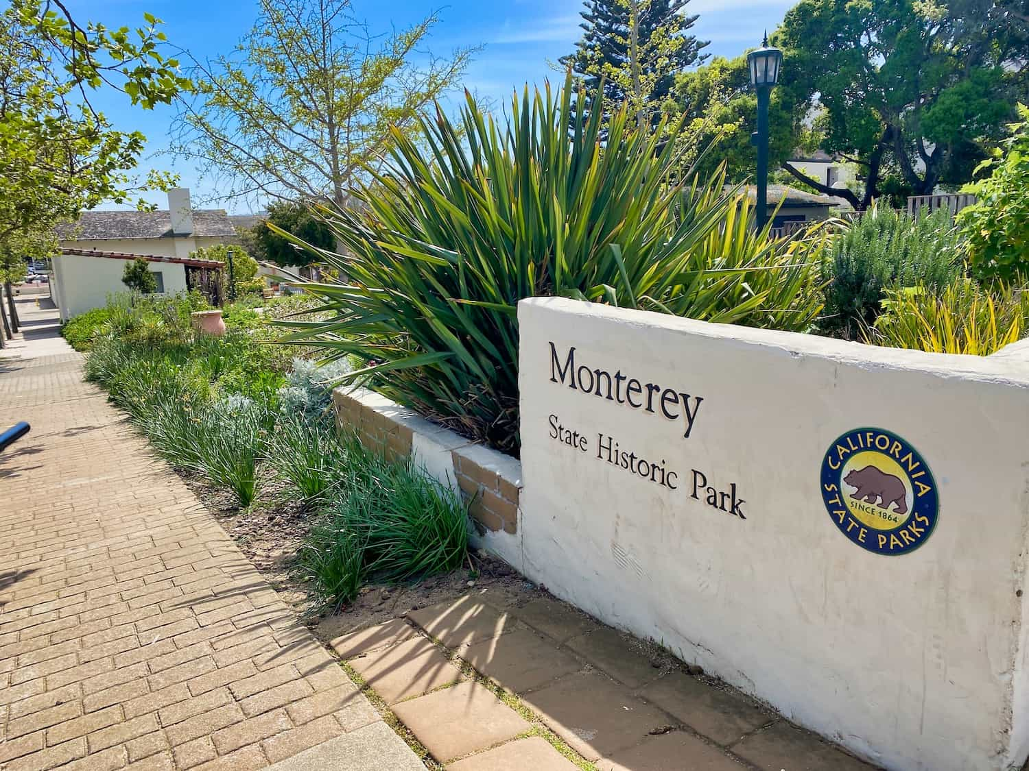 Sign for Monterey State Historic Park