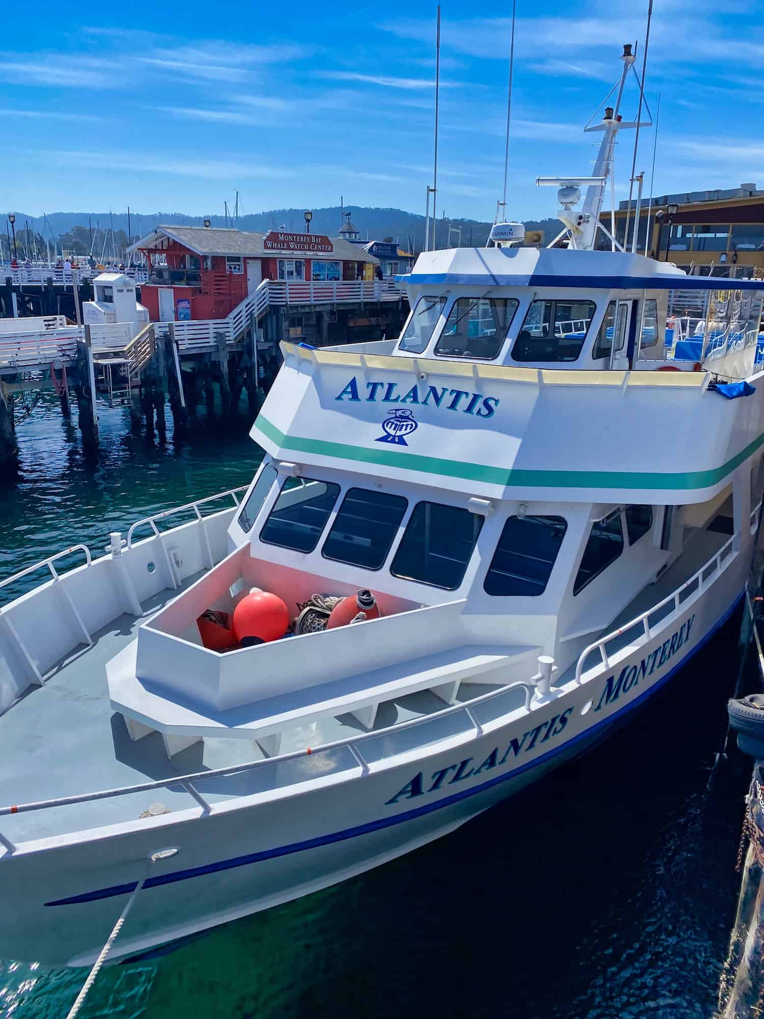Whale Watching Boat in Monterey