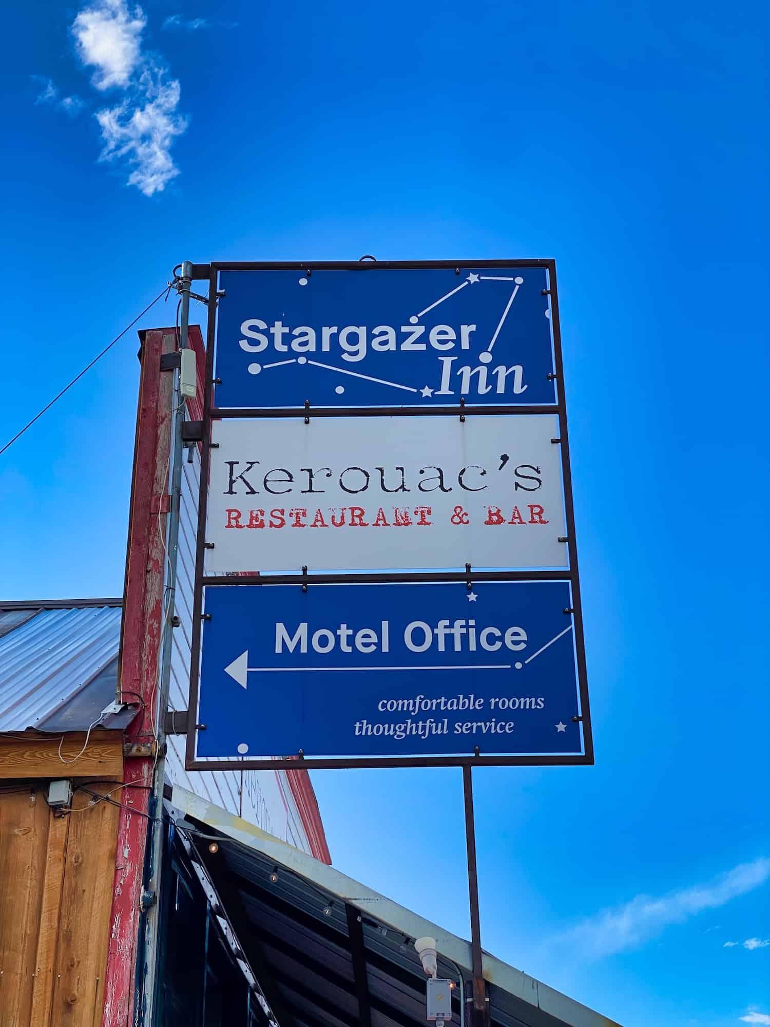 Great Basin National Park - Stargazer Inn Sign