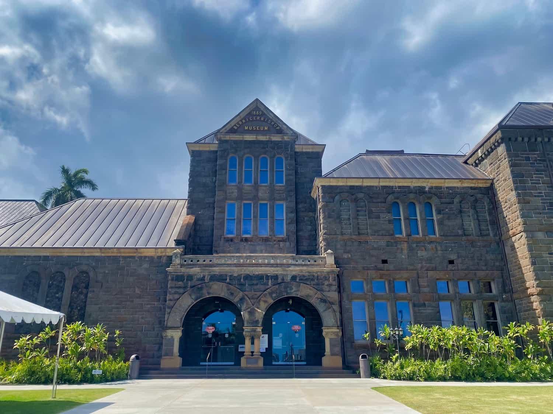 Oahu, Hawaii - Bishop Museum