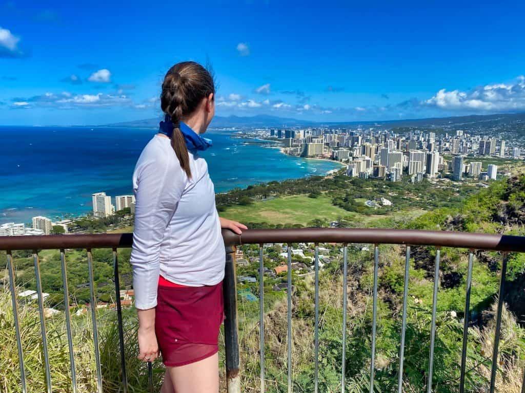 Oahu, Hawaii - The View from Diamond Head