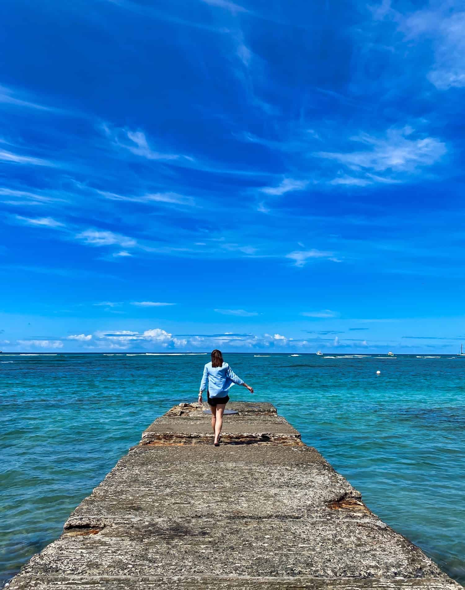 3 days on Oahu, Hawaii - Honolulu Pier
