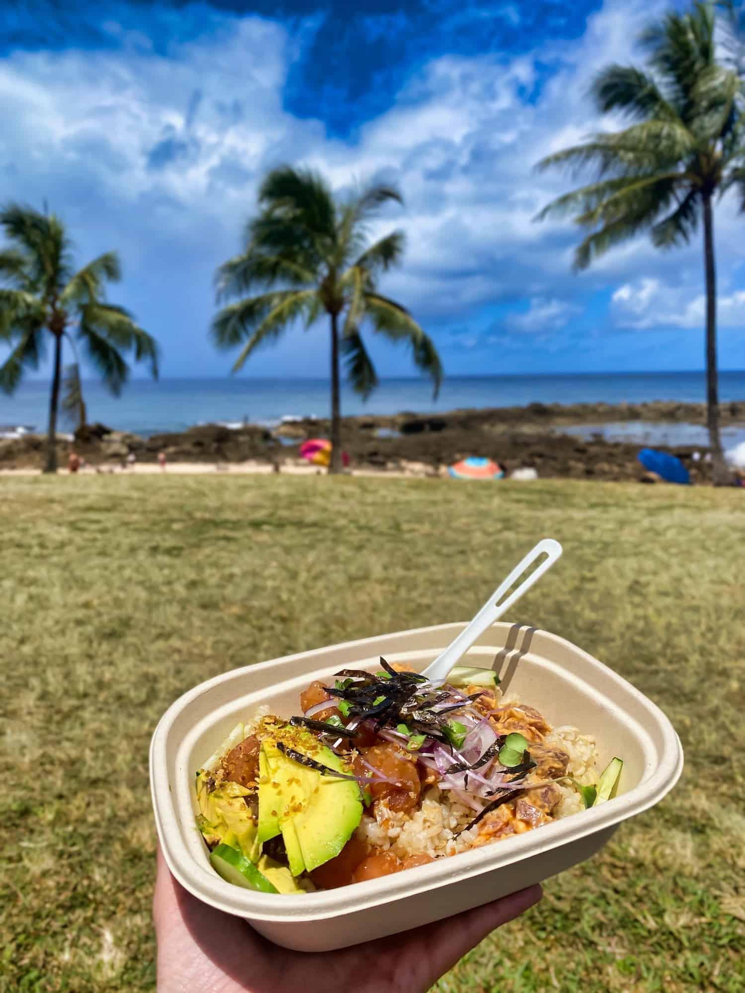 3 days on Oahu, Hawaii - Local Food