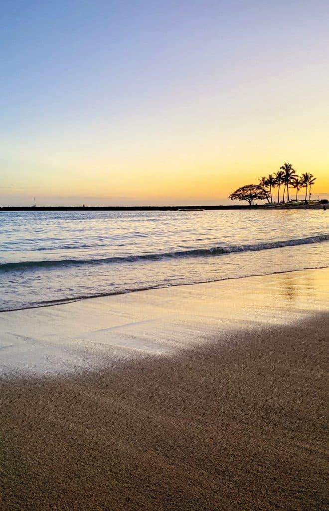 3 days on Oahu, Hawaii - Sunset