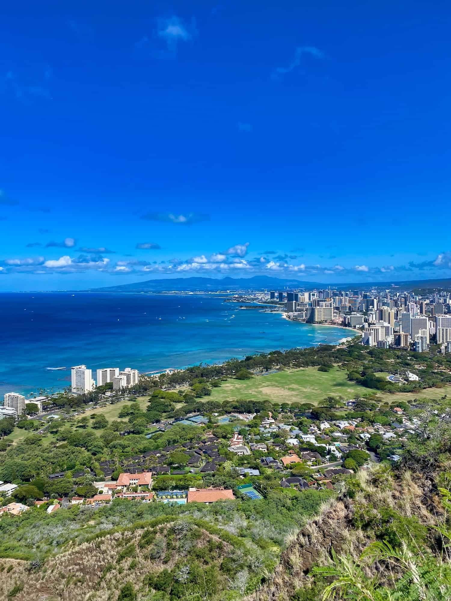 Oahu, Hawaii - Waikiki View