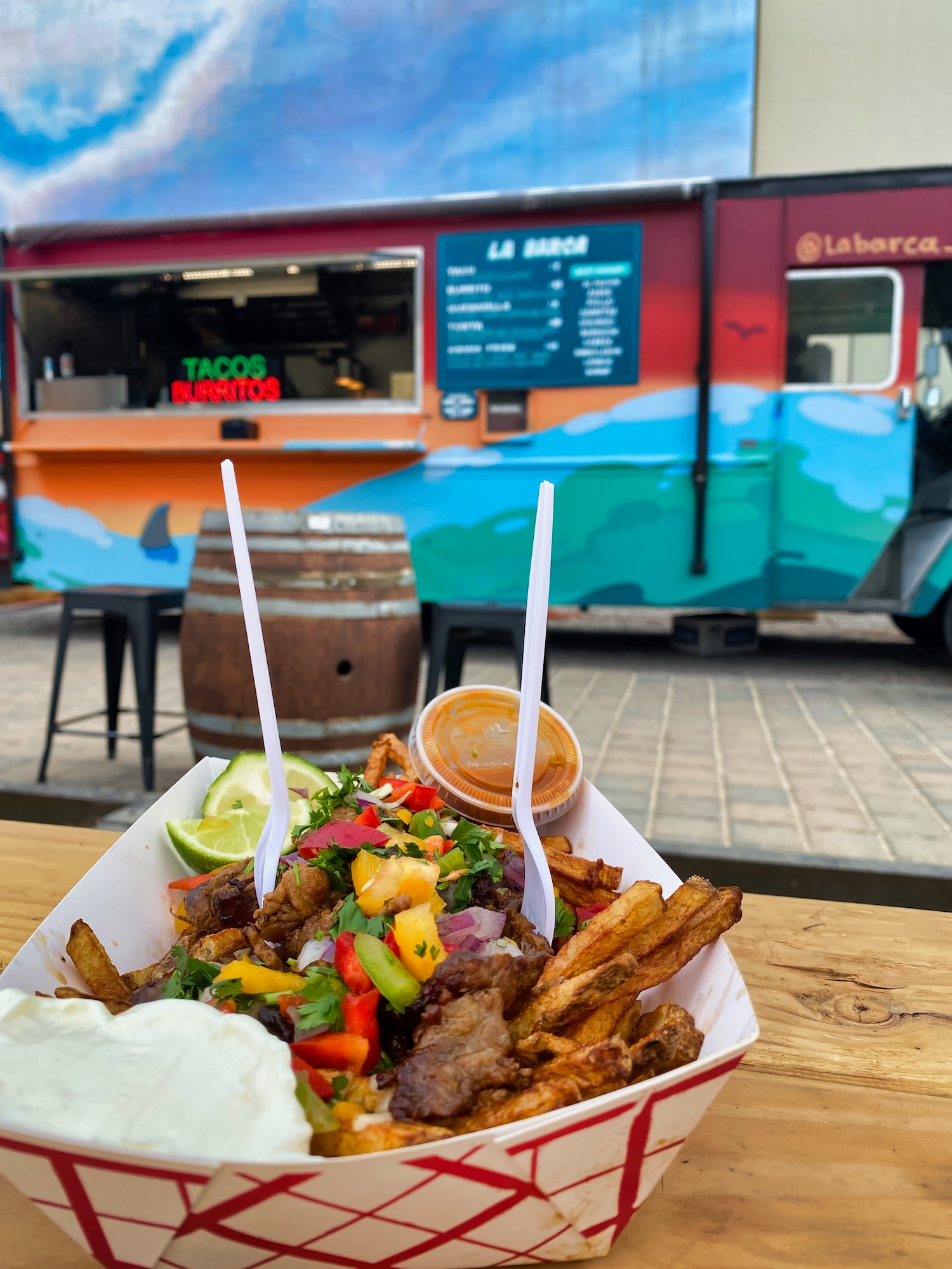 3 Days in Reno - Fries & Food Truck at The Eddy