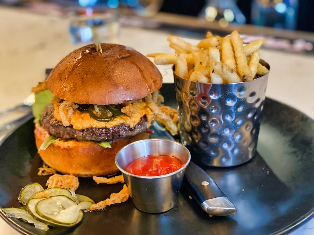 Reno Weekend - Burger & Fries