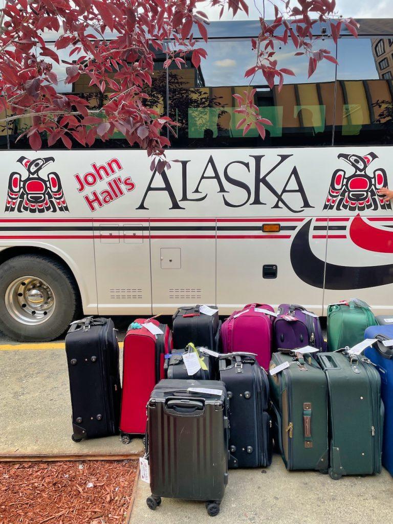 John Hall's Alaska Review - Bus Luggage