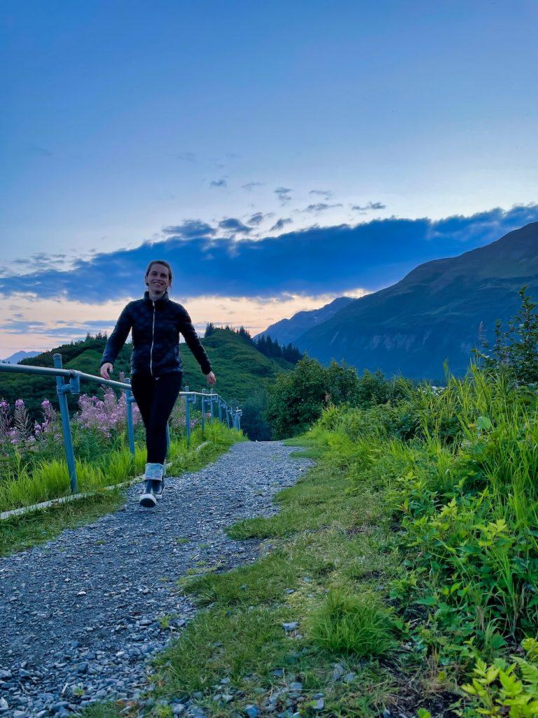 John Hall's Alaska Review - Day 1 - Evening in Valdez Hike