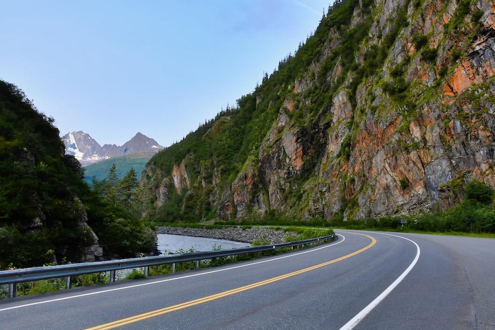 John Hall's Alaska Review - Day 2 - Keystone Canyon Road