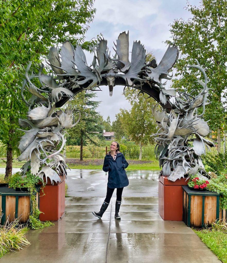 John Hall's Alaska Review - Day 3 - Antler Arch
