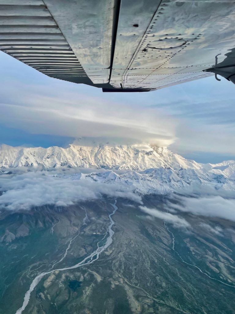 John Hall's Alaska Review - Day 5 - Flightseeing view of Denali