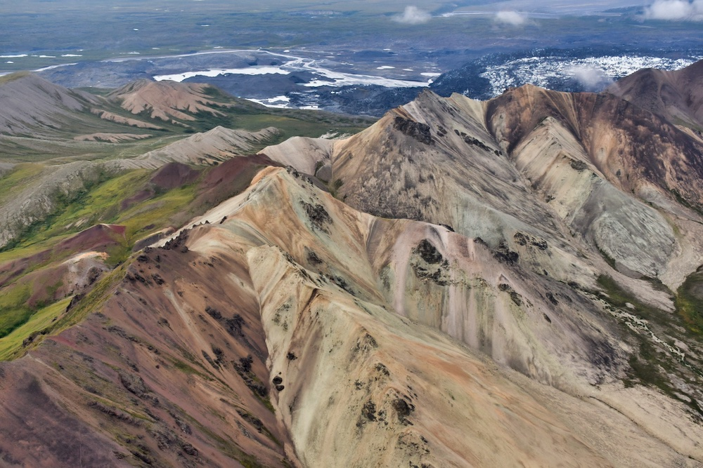 John Hall's Alaska Review - Day 5 - Flightseeing Scenery