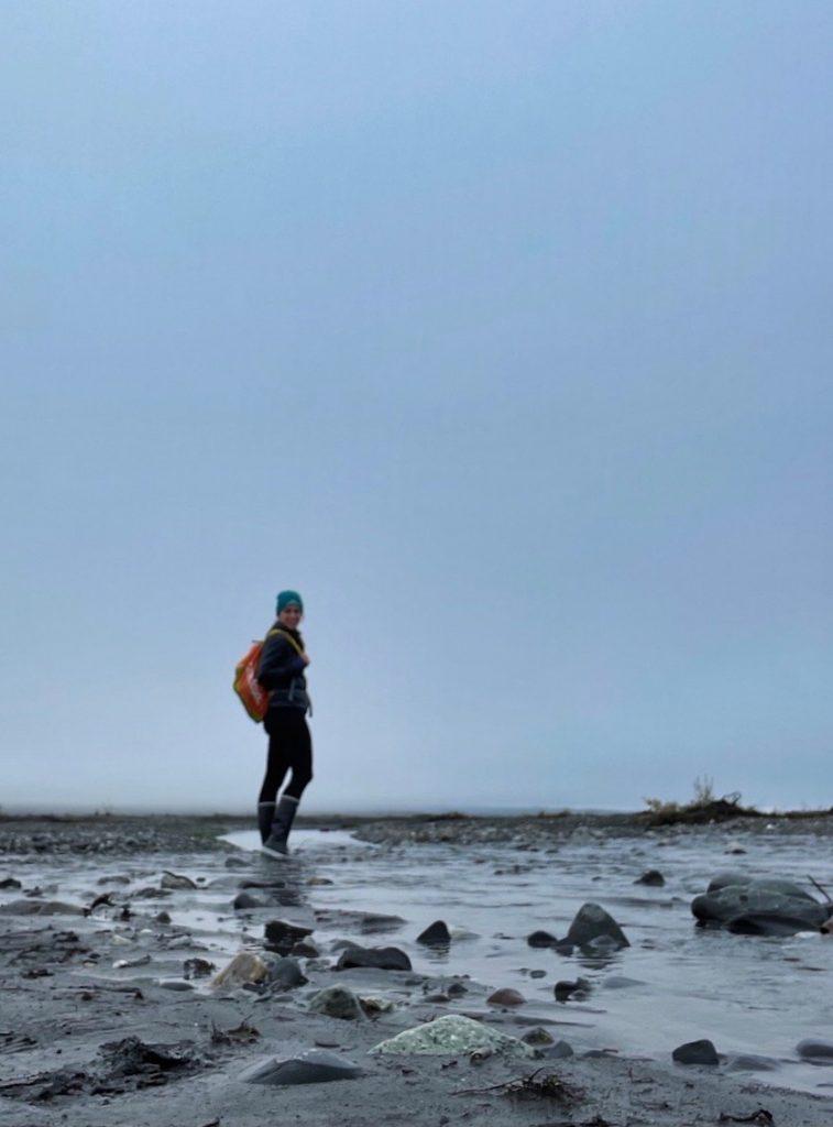 John Hall's Alaska Review - Day 5 - McKinley Bar Trail Portrait