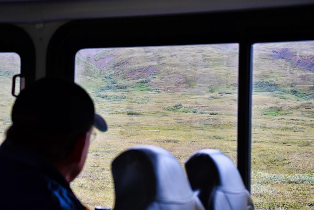 John Hall's Alaska Review - Day 6 - Leaving Denali