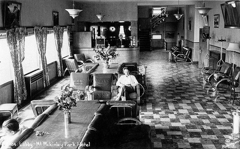 McKinley Park Hotel - Interior (1938-1939)