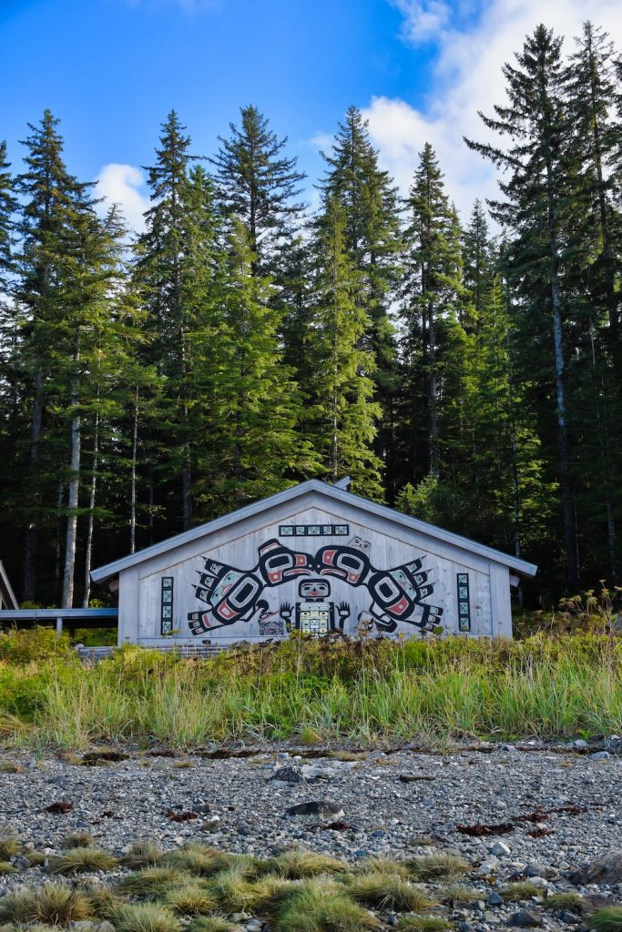 One Day in Glacier Bay - Huna Tribal House