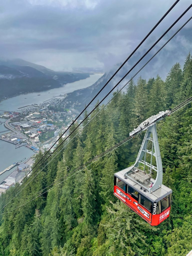 One Day in Juneau - Mt. Robert's Tramway