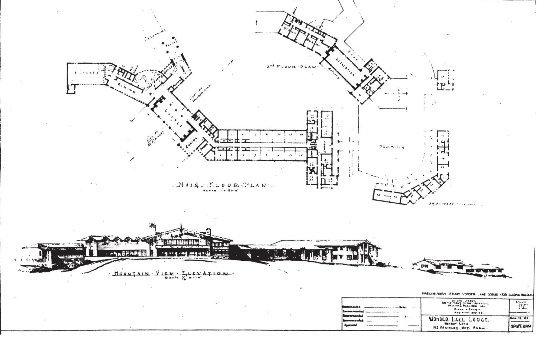 Wonder Lake Lodge Plans 1