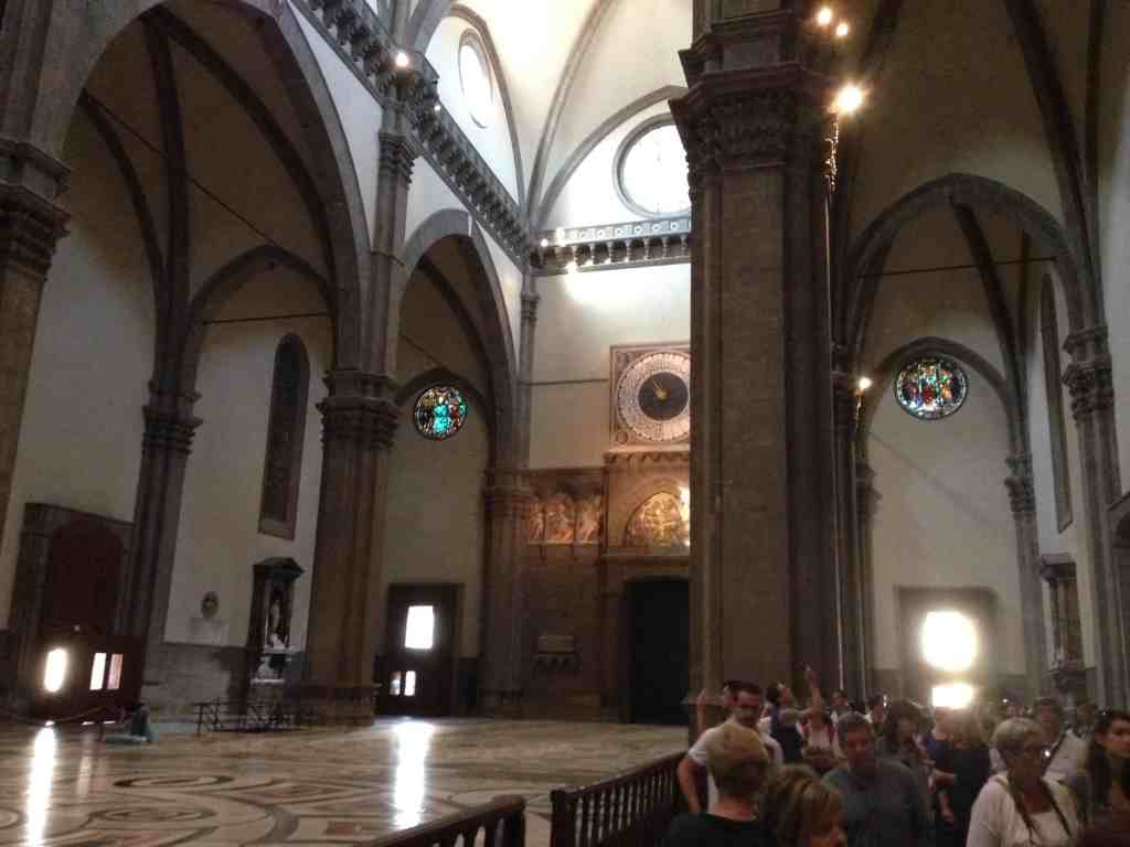 Inside Florence Cathedral