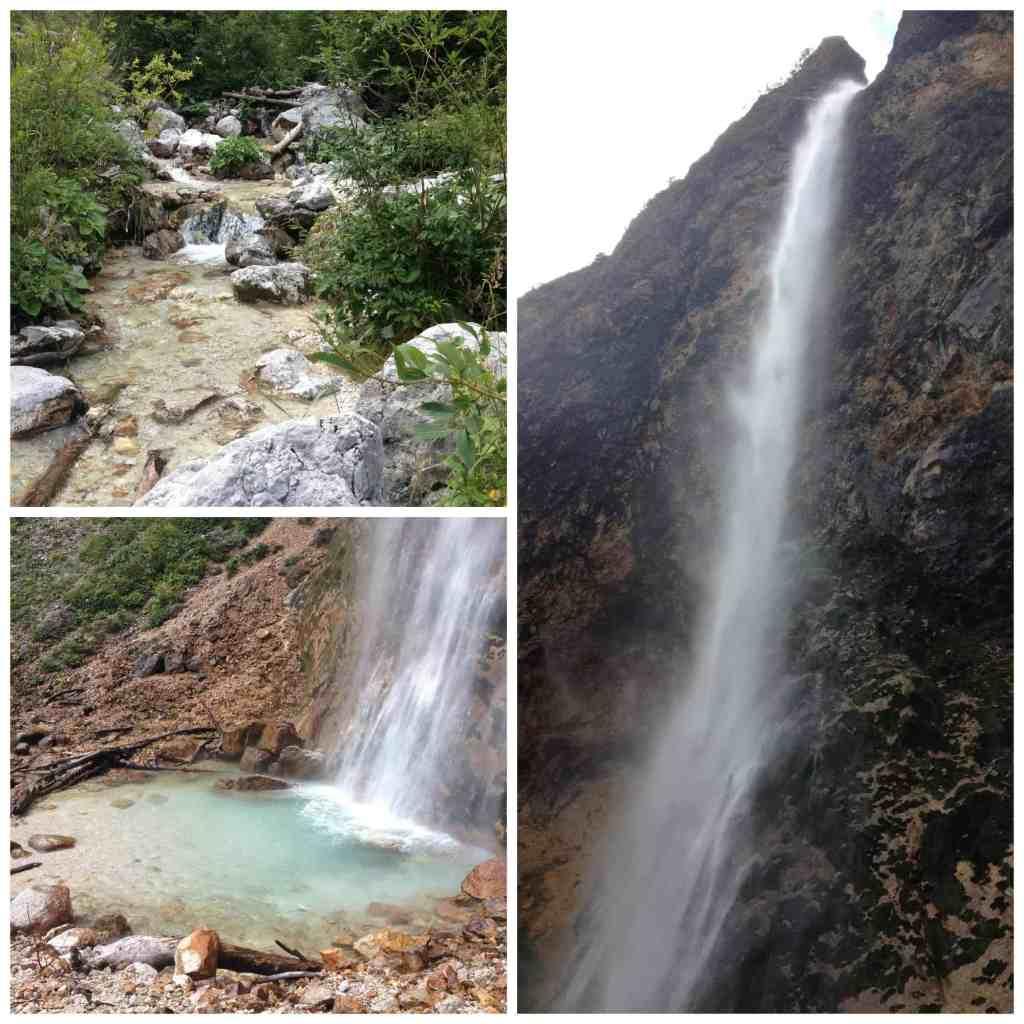 Rinka Waterfall in Logarska Dolina Slovenia