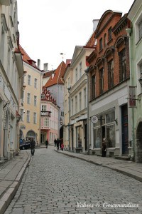Colourful Tallinn, Estonia