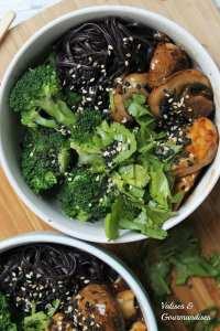 Tempeh Général Tao - Version santé du tofu général tao! Valises & Gourmandises