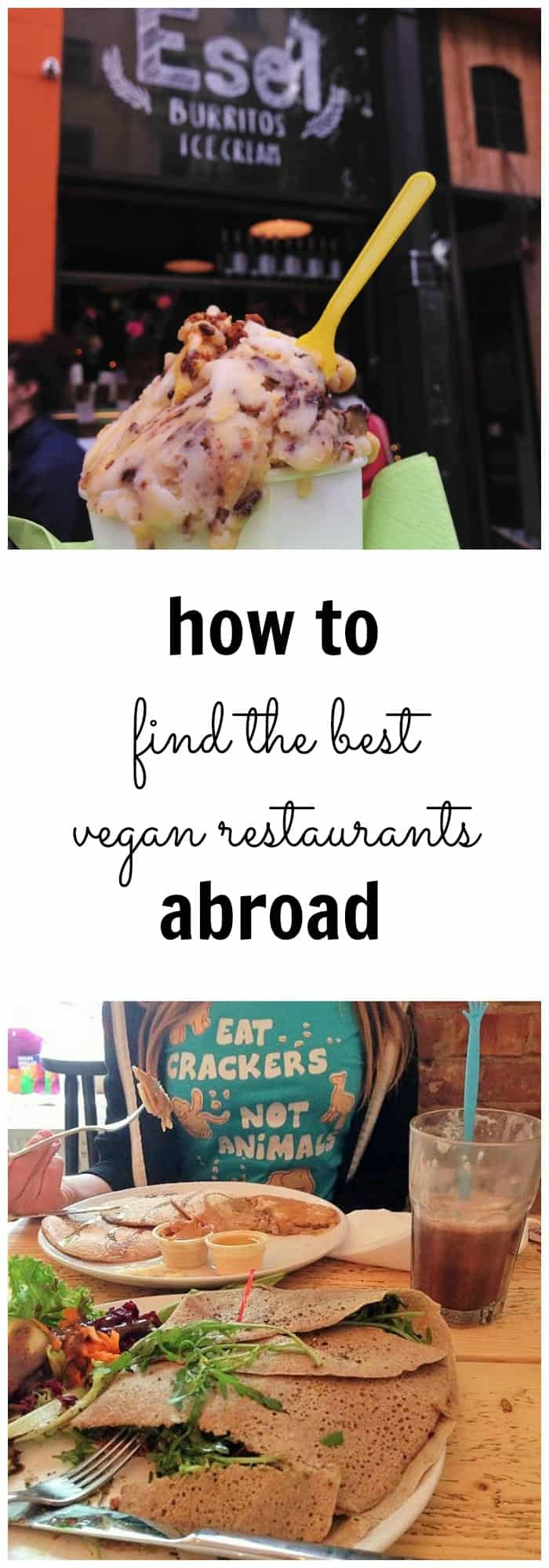 How to find vegan restaurants while travelling with Happy Cow