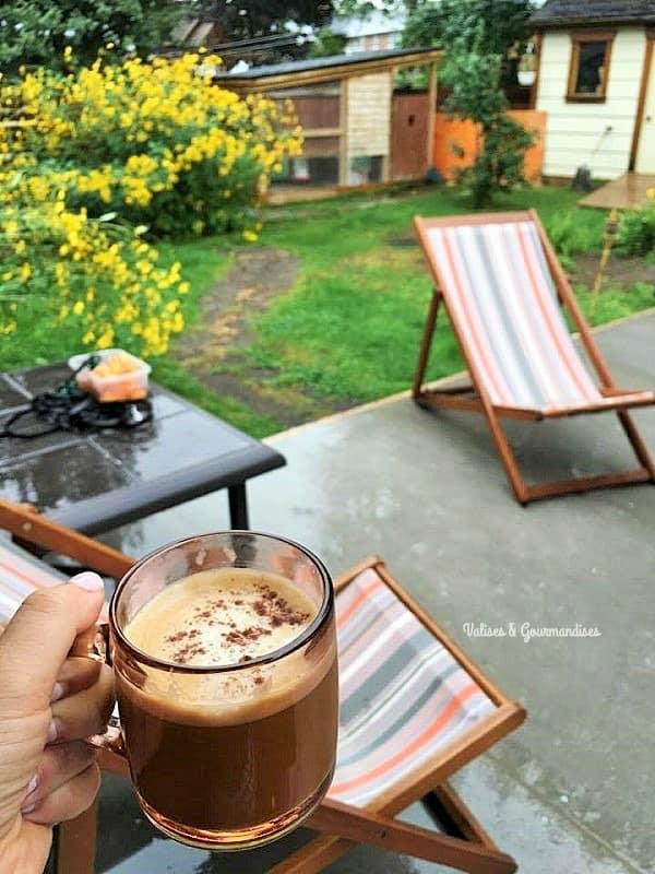 Vegan pumpkin latte - Valises & Gourmandises