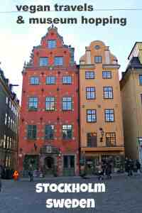 Museum-hopping & Vegan travels in Stockholm