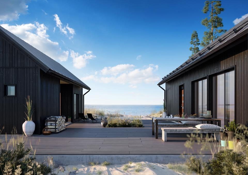 Kodikas pihapiiri rakentuu talon tyyliin sopivista pihatuotteista