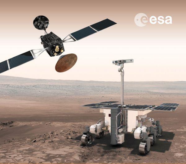Orbiter, Lander Module, Rover